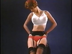 wasting my time - vintage nylon striptease nylons