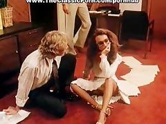 office fuck episode with vintage pornstars