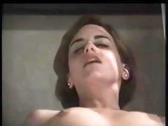 agreeable italian girl in retro
