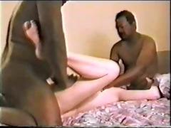 cuck classic - 2 blk bulls fuck the wife pt 4