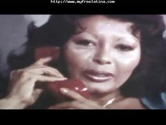 vintage interracial scene latin chick cumshots