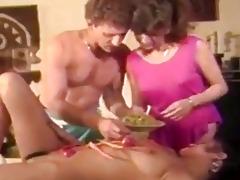amateur vintage porn clip where...