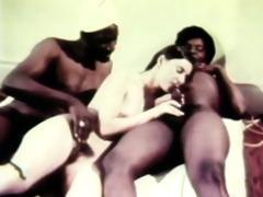 hot retro trio havingsex