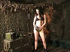 susanna francessca army angel striptease