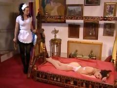 karen lancaume, sexy maid and the sleeping
