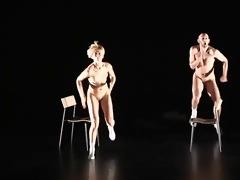 nude stage performance 11 - show room dummies