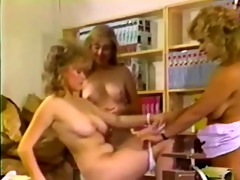 classic and enchanting lesbian three-some with