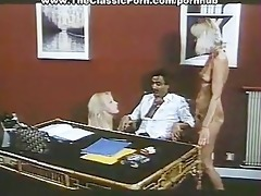 three-some fuck in the office