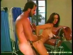 classic busty darksome brown drilled in clinic