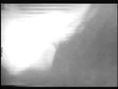 classic vintage footage of brunnette floozy