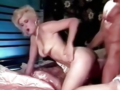 retro blonde shocking fuck skills