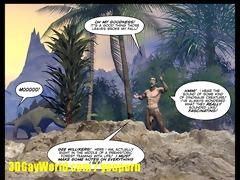 cretaceous pounder 2d homosexual comic story