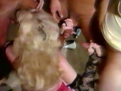 classic group sex for huge milk sacks blond
