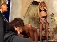 sh retro interracial threesome ffm