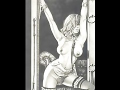 vintage erotic bdsm artworks anime comics