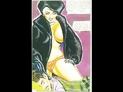 vintage cold-blooded sexual femdom comic