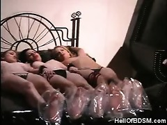 sexy subs gagged and fastened