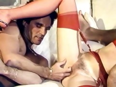 joanna stevens in a classic double penetration