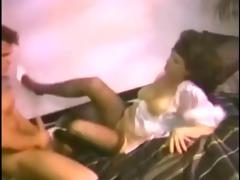 mature in rare vintage movie scene