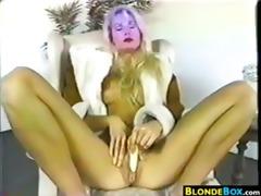 blond mother i masturbating