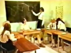 schoolgirl orgy vintage, retro