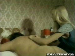 newbie masseuse is not sure what her job is