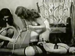 vintage betty page hogtied