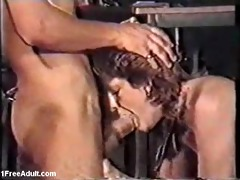 classic german scene- aged giving oral-job and