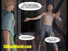 jack &; beanstalk 611dgay cartoon comic homo