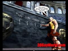 homo olympic games a matter of joke 7dgay cartoon