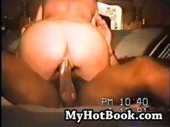vintage mama swinger cums hardcore on ebony dildo