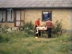 vintage outdoor threesome sex