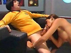 space ship vintage slutty oral-service masters